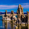 Mono Lake Moonlit Tufa