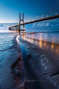 Pont Vasco de Gama Lisboa Portugal