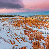 Bryce Canyon colorful sunrise