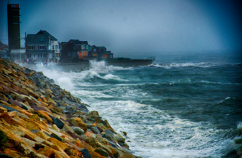 Hurricane Irene at Brant Rock