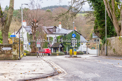 Alloway & The Old Brig o' Doon Hotel South Ayrshire Scotland