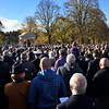 2018 Remembrance service in the Quarry, Shrewsbury.
