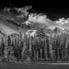 Moonlight Over the Rockies