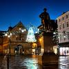 Christmas lights in the Square, Shrewsbury.