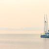 Fishing Boats, Foggy Morning