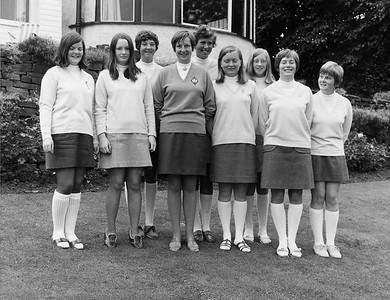 Scottish Girls Team 1969 Ilkley