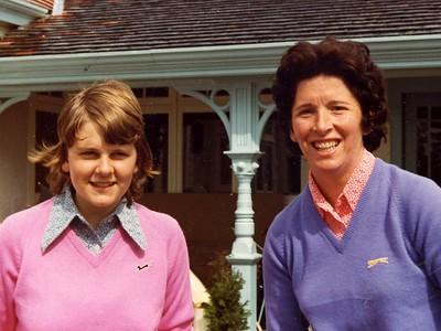 Lorna Bennett and Aileen Wilson