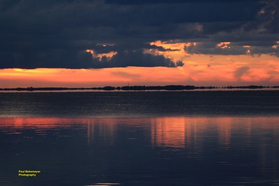 Sunset Pictures Over Looking Lake Apopka Magnolia Park