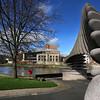 The Quantum Leap Sculpture, Shrewsbury.