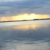 Sunset over looking Lake Eustis