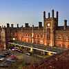 The railway station building, Shrewsbury.