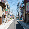 Quiet Sunday morning at a Matsumoto backstreet