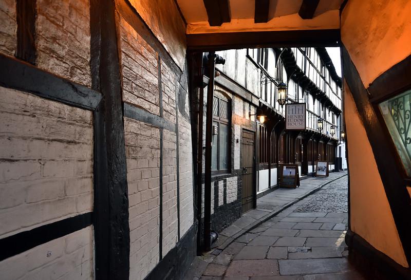 Henry Tudor House, Wyle Cop, Shrewsbury.