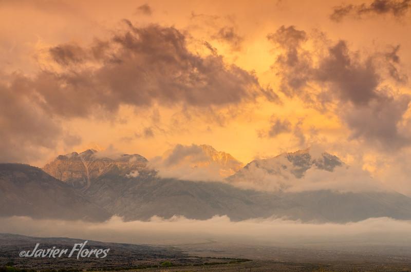 Owens Valley, Eastern Sierra at Sunrise