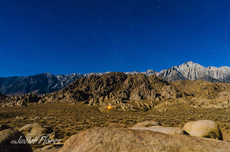 Rocks Mountains and Stars