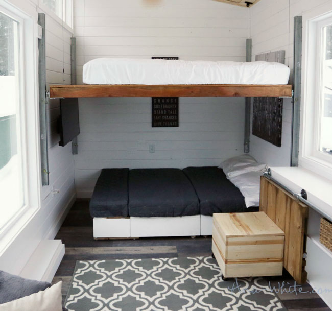 Ana white diy elevator bed for tiny house diy projects solutioingenieria Images