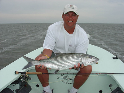 Piscator with 11lb. bonefish