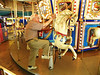 This is not the carousel that he remembers from back in the day, but it will do.