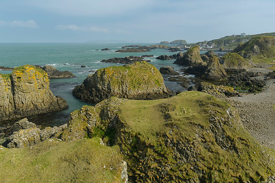 The Bay of Ballintoy Harbour
