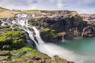 The Dunseverick Falls