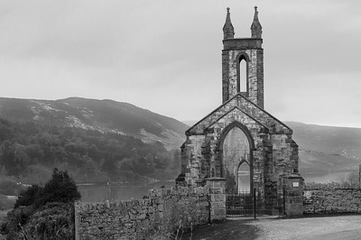The Dunlewey Church abandoned