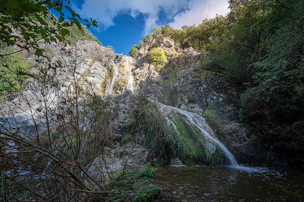 the waterfalls of the Strolla river - Volterra (Tuscany)