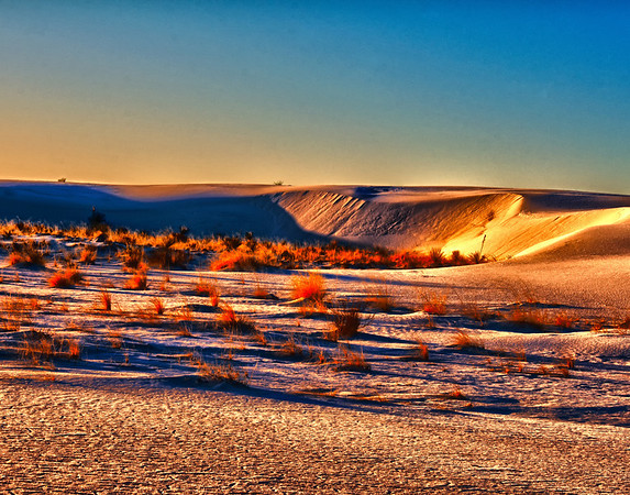 Sunrise at White Sands New Mexico 14X11