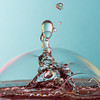 Waterdroplet and Bubble