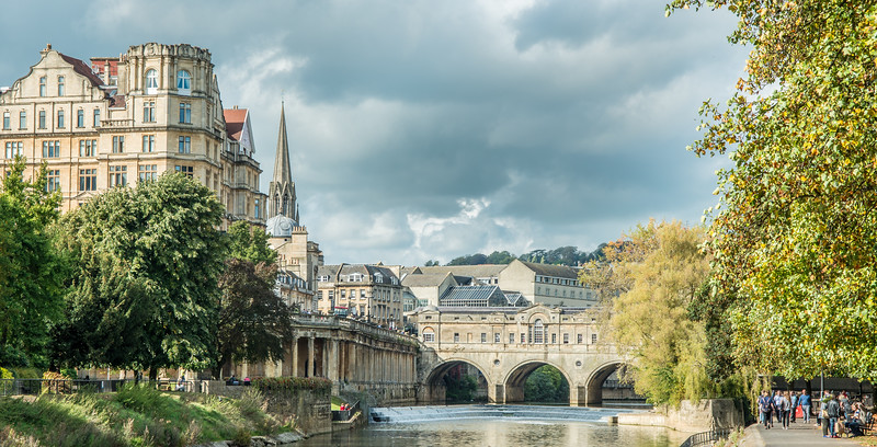 The River Severn at Bath