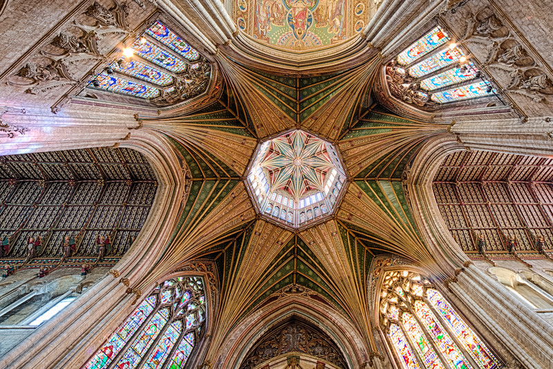 Ceiling, Ely Cathedral (3rd)
