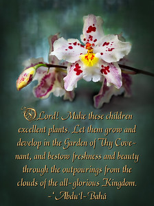 O Lord! Make these children excellent plant