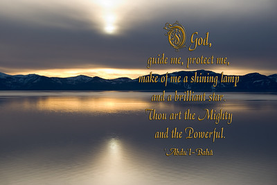 O God, Guide me, protect me