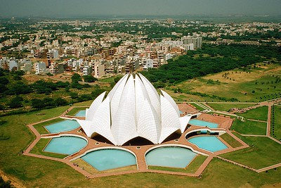 Bahá'í House of Worship in New Deli India