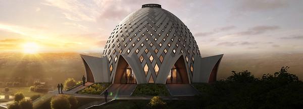 Bahá'í House of Worship in Papua New Guinea