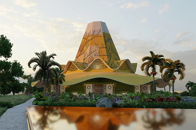 Baha'i House of Worship in Democratic Republic of Congo