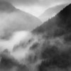 Foggy Fraser River Valley