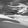At the Columbia Ice Fields in Jasper, Alberta