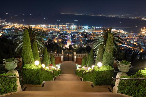 The Terraces, Bahá'í World Center, Haifa Israel