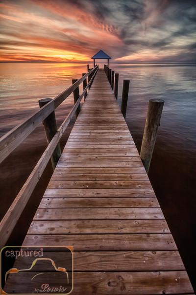 Gulf Sunset at Shired Island