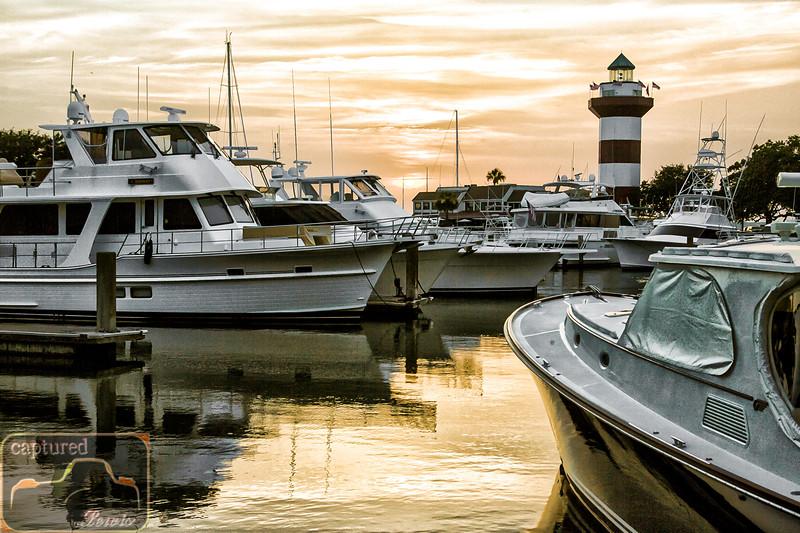 Harbor Town Sunset 2