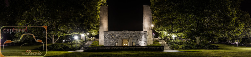 Virginia Tech War Memorial Panoramic