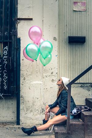 Flating Balloons