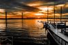 Charleston Harbor Sunrise
