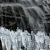 Icicles in Maligne Canyon, Jasper