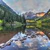 Maroon Bells - near Aspen, south of Route 70 in the Rockies