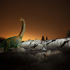 Dinosaur at Kleskun Hills, Alberta