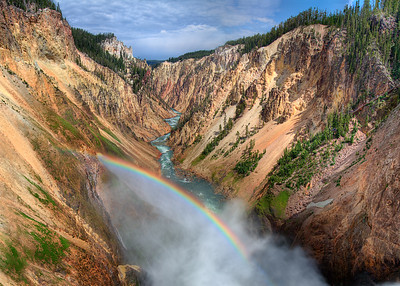 A canyon of Rainbows