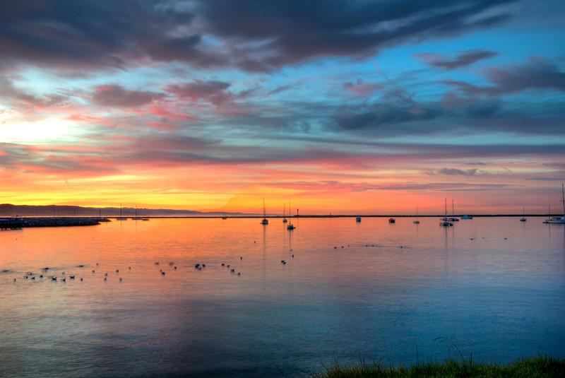 Half Moon Bay at Sunrise