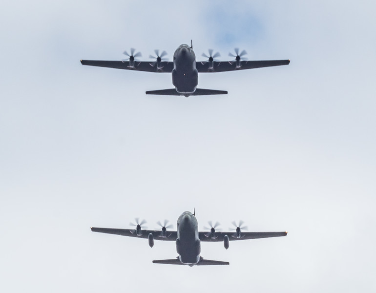 A400M Atlas and C-130 Hercules ( top )