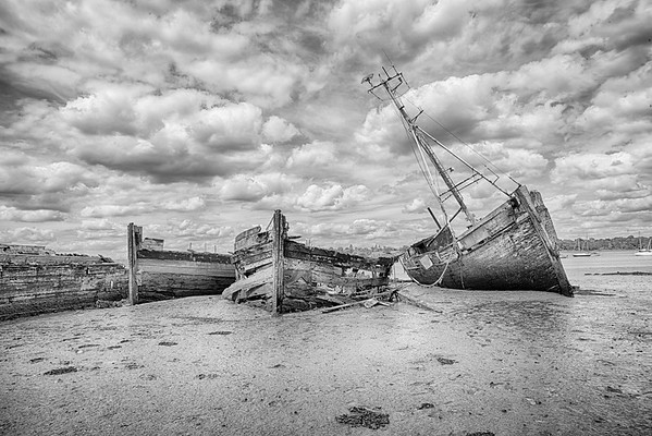 Old Boats at Pin Mill